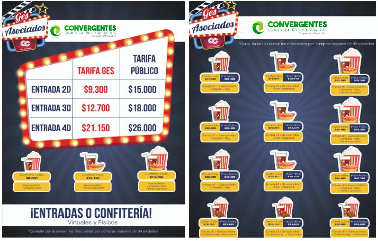 imagen alusiva Boletería Cine Colombia 2020