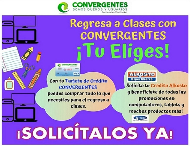 imagen alusiva ¡Convergentes te acompaña en tu Regreso a Clases!